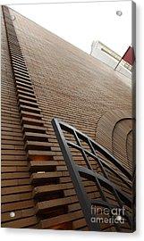 San Francisco - Maiden Lane - Xanadu Gallery - Frank Lloyd Architecture - 5d17795 Acrylic Print by Wingsdomain Art and Photography