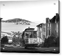 San Francisco Cable Car Acrylic Print