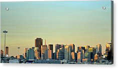 Acrylic Print featuring the photograph San Francisco Cityline by Rima Biswas