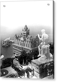 San Francisco Cliff House Acrylic Print by Underwood Archives
