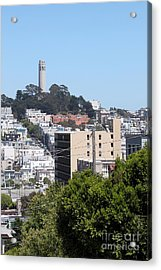 San Francisco Coit Tower Acrylic Print