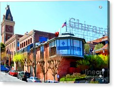 San Francisco Ghirardelli Chocolate Factory . 7d14093 Acrylic Print by Wingsdomain Art and Photography