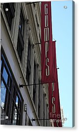 San Francisco Gumps Department Store - 5d17091 Acrylic Print by Wingsdomain Art and Photography