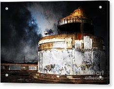 San Francisco Nights . 7d14028 Acrylic Print by Wingsdomain Art and Photography