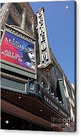 San Francisco Orpheum Theatre - 5d17990 Acrylic Print by Wingsdomain Art and Photography