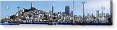 San Francisco Panorama Acrylic Print
