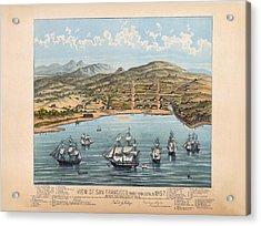 San Fransisco 1846 Acrylic Print by Donna Leach