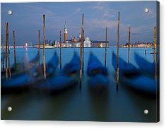 San Giorgio Maggiore With Twilight Sky Acrylic Print