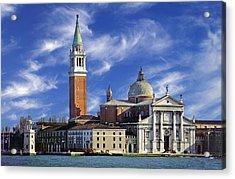 Acrylic Print featuring the photograph San Giorgio by Rod Jones
