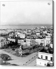 San Juan - Puerto Rico - C 1900 Acrylic Print by International  Images