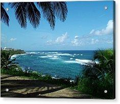 San Juan Puerto Rico Acrylic Print by Steve Monell