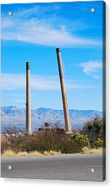 San Manuel 5 Acrylic Print by T C Brown