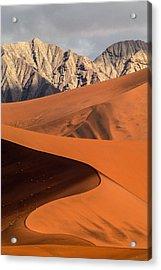 Sand And Stone Acrylic Print