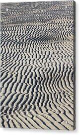 Sand Art Work Acrylic Print