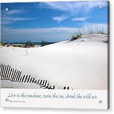 Sand Dunes Dream 3 Acrylic Print