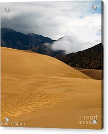 Sand In The Mountains Acrylic Print