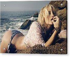 Sand Is Nice Acrylic Print by Andy Quarius