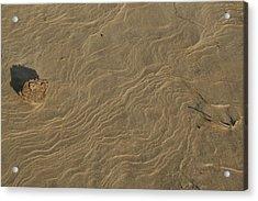 Sand Sculpture Acrylic Print