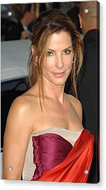Sandra Bullock At Arrivals For All Acrylic Print by Everett