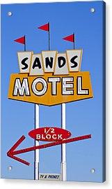 Sands Motel Acrylic Print