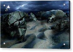 Sands Of Oblivion Acrylic Print