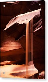 Sands Of Time Acrylic Print by James Marvin Phelps