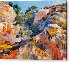 Sandstone Canyon Acrylic Print