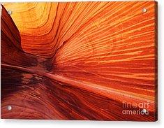 Sandstone Wave  Acrylic Print by Dennis Hedberg