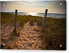 Sandswept Acrylic Print by Jason Naudi Photography