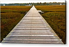 Sandwich Boardwalk Acrylic Print