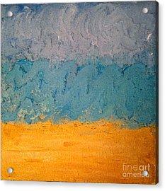 Sandy Beach Acrylic Print