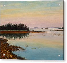 Acrylic Print featuring the painting Sandy Hook by Joe Bergholm