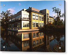 Sanger Centre Used For The Human Genome Project Acrylic Print