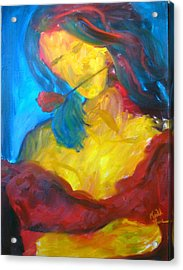 Acrylic Print featuring the painting Sangria Dreams by Keith Thue