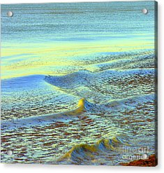 Sanibel Sea Acrylic Print by Anne Gordon