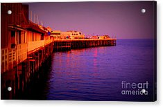 Santa Cruz Wharf Acrylic Print