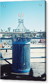 Santa Monica Pier Acrylic Print by Lola Connelly