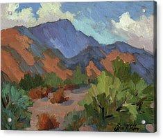 Santa Rosa Mountains Acrylic Print by Diane McClary