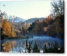 Santa Ynez River Acrylic Print