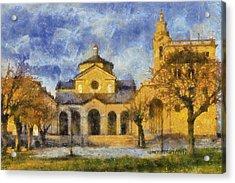 Santuario Della Madonna Della Guardia Acrylic Print