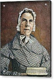 Sarah Moore Grimke Acrylic Print
