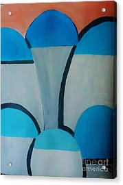 Sardinia Greece An Abstract Acrylic Print by Marie Bulger