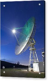 Satellite Tracking Antenna Dish Acrylic Print by Everett