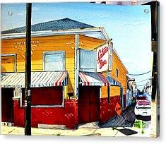 Saturn Bar Acrylic Print by Terry J Marks Sr