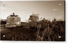 Saugerties Lighthouse Acrylic Print by Skip Willits