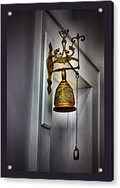 Saved By The Bell Acrylic Print by Myrna Migala
