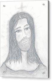 Savior Acrylic Print by Sonya Chalmers