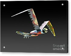 Saw Bird Acrylic Print