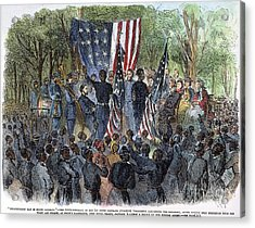 Sc: Emancipation, 1863 Acrylic Print by Granger