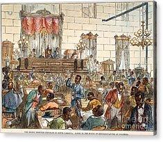 Sc: Legislature, 1876 Acrylic Print by Granger